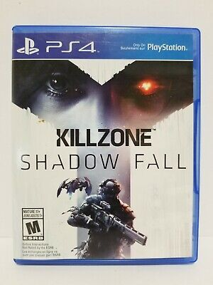 PS4 videogame: Killzone: Shadow Fall - NO SCRATCHES - tested - with warranty