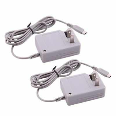 2 pcs Home AC Travel Wall Charger Power Adapter US Plug For Nintendo DSi NDSi XL