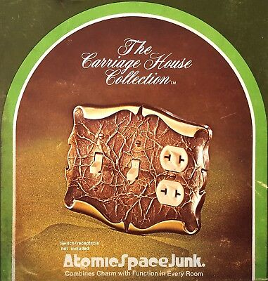 Amerock Carriage House Switch Plate Outlet Cover Combo Antique Brass New In Box