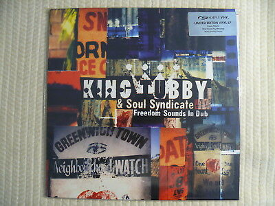 King Tubby & Soul Syndicate  Freedom Sounds In Dub  RARE UK 2002  ARCHIVE MINT