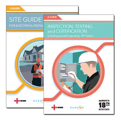 Site Guide For Installations <100A & Testing & Inspection Guide Notes pack