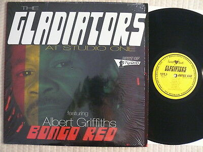 The Gladiators Featuring  Albert Griffiths   Studio One  Bongo Red ARCHIVE MINT