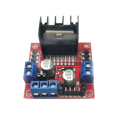L298N Stepper Motor Drive Module Arduino Dual H Bridge Control Board New
