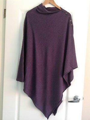 Seraphine purple maternity breastfeeding cover nursing shawl