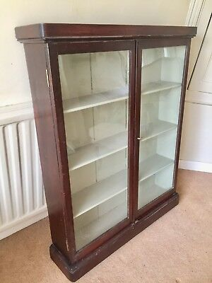 Antique Vintage Display Cabinet  Apocathery Shop Display Mahogany Victorian