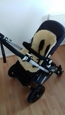 Mamas and Papas Pushchair Liner 100% Sheepskin (Cover only)