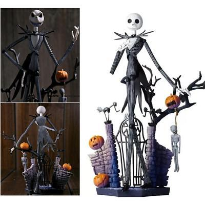 "7"" The Nightmare Before Christmas Jack Skellington Halloween Action Figure Gift"