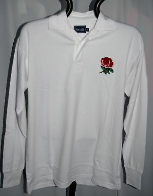 English Classic Combed Cotton Retro England Rugby Shirt