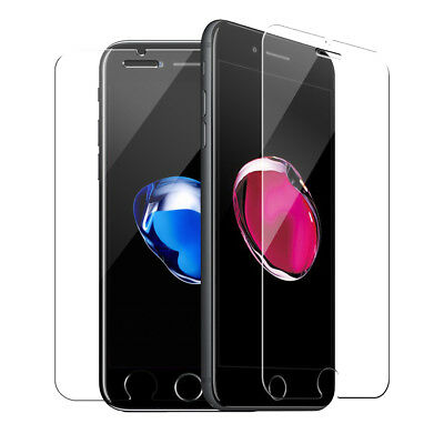 Glass Screen Protector For Apple iPhone 7 Plus 100% Genuine Tempered UK