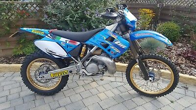 2001 tm 250, road legal, px and delivery, debit/credit card payments