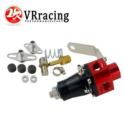 13301 Universal Bypass Fuel Pressure Regulator 3 Port 3//8 Thread Line NEW