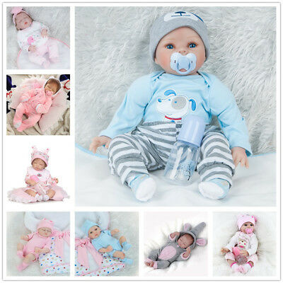 Uk Lifelike Newborn Baby Girl Boy Realistic Reborn Doll Artist Kids Xmas Gifts