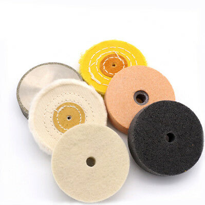 "3"" inch Various Materials Polishing Wheel Buffing Sanding Pad for Bench Grinder"