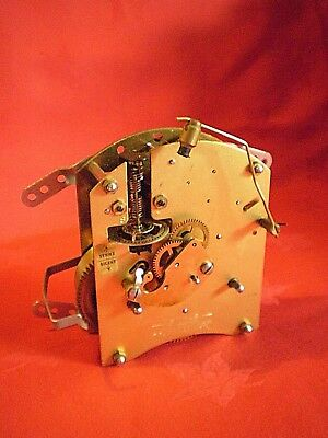 Vintage Smiths Two Jewels Clock Movement Spares Or Repair