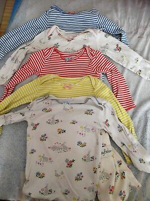 Used Boden long sleeve Vests 6-12 Months