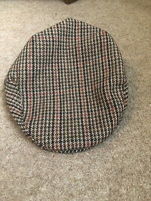 Hawkins Country Collection Boys Tweed Flat Cap, Size 52Cm