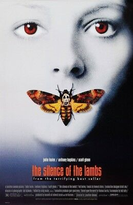 Silence Of The Lambs 1991 Replica Movie Poster