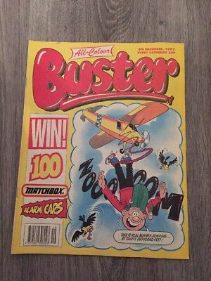 Buster Comic - 5th December 1992