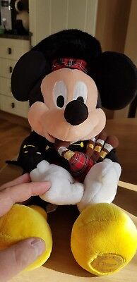 Walt Disney Scottish Mickey Mouse BRAND NEW IN BAG  very rare 99p no reserve
