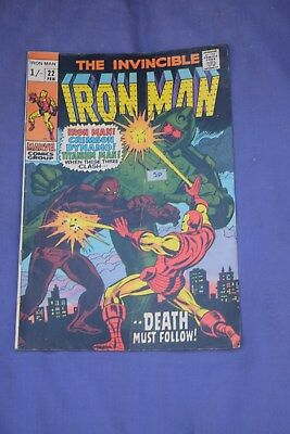 The Invincible Iron Man  no 22 (Marvel)