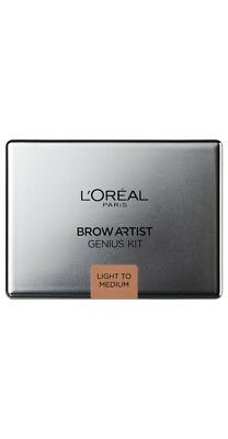 Loreal Brow Artist Genius Kit. Light to Medium.