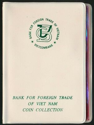 Vietnam 1958-1976 7 Coin mint set UNC to BU Bank For Foreign Trade