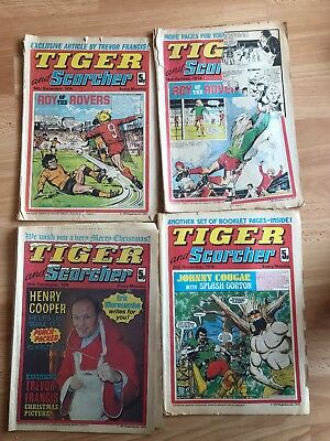 Tiger And Scorcher Comic 1974