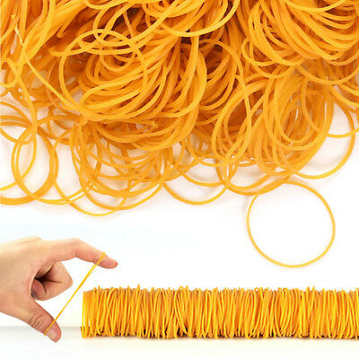 100X/Pack Rubber Bands Stationery Rubber Ring Band For Tie Package Office Food S
