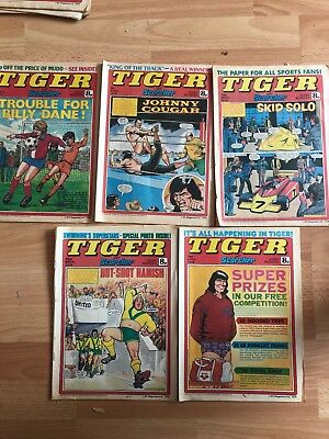 TIGER and Scorcher Comic 1978