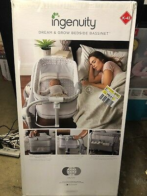 Ingenuity Dream And Grow Bedside Bassinet