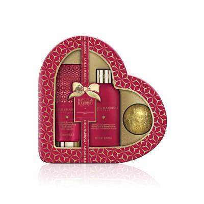 Baylis & Harding Midnight Fig and Pomegranate Red Heart Gift Set