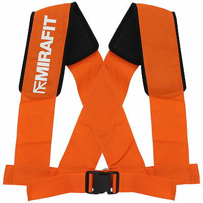 Mirafit Shoulder Harness Gym Pull Sled Drag Strongman/Bootcamp Weight Training