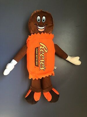 "19"" Huge Hershey Reeses Milk Chocolate Peanut Butter Cups Plush Doll Pillow Gift"