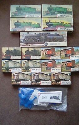 AIRFIX OO gauge WAGONS/TRAINS   New old stock JOB LOT X16 PLUS DELTIC LOCO X1