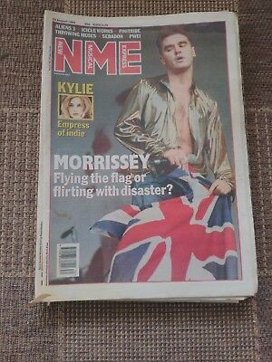 New Musical Express NME Magazine August 22 1992 NPBox046 Morrissey - Kylie - Ali