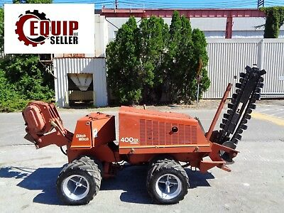 Ditch Witch 400SX Trencher & Cable Plow - Diesel- 4x4