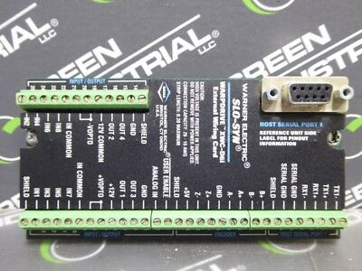 USED Superior Electric 226435-001 Slo-Syn Warpdrive External Wiring Card Rev. C