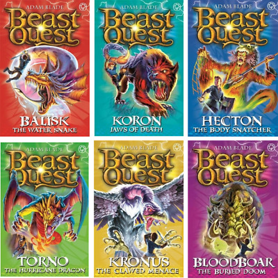 Beast Quest Pack: Series 8, 6 books, RRP £29.94