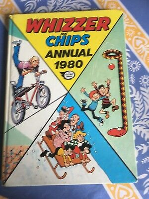 (Good)-WHIZZER AND CHIPS ANNUAL 1980 (Hardcover)