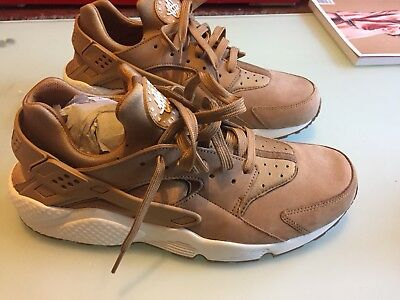 New Nike Air Huarache Flax Sail-Gum Med Brown Wheat 318429 202 Sz 12