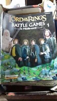 Lord Of The Rings Battle Games Deagostini Magazines, 1-83, -12-15-43