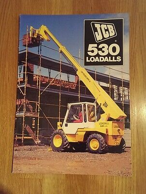 JCB 530 Loadall brochure.. 1983