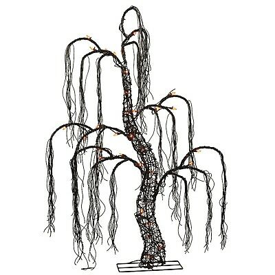 48In Halloween Willow Tree Light Spooky Yard Outdoor Lighting Decoration Holiday