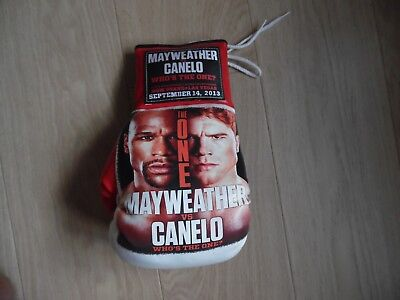 Boxing Glove   Mayweather  Vs  Canelo