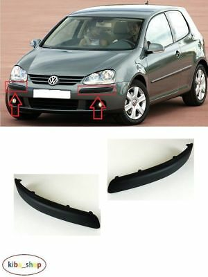 Volkswagen Golf V Mk5 2004 - 2009 New Front Bumper Moulding Trim Left + Right