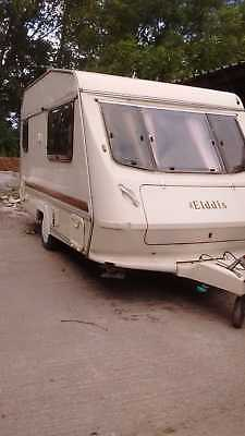 Elddis Wisp 350/2 Caravan 2 berth with full awning & all you need, hook up & go
