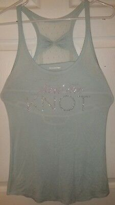 "Victoria's Secret Bridal "" I Do "" collection racerback tank tide the knot large"