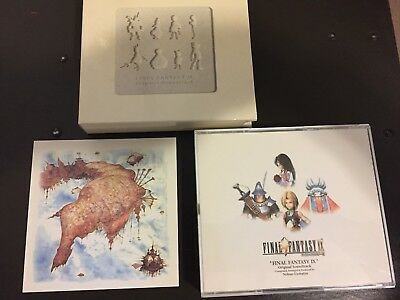 FINAL FANTASY IX ORIGINAL SOUNDTRACK 4 Disks CD Composed by Nobuo Uematsu