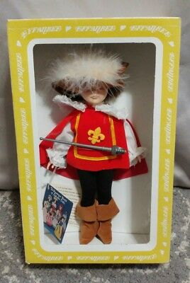 """Vintage 11"""" EFFABEE Musketeer Doll #92 (Made In The U.S.A)"""