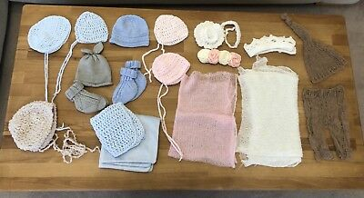 Newborn Photography Props bundle - headbands, hats and costumes